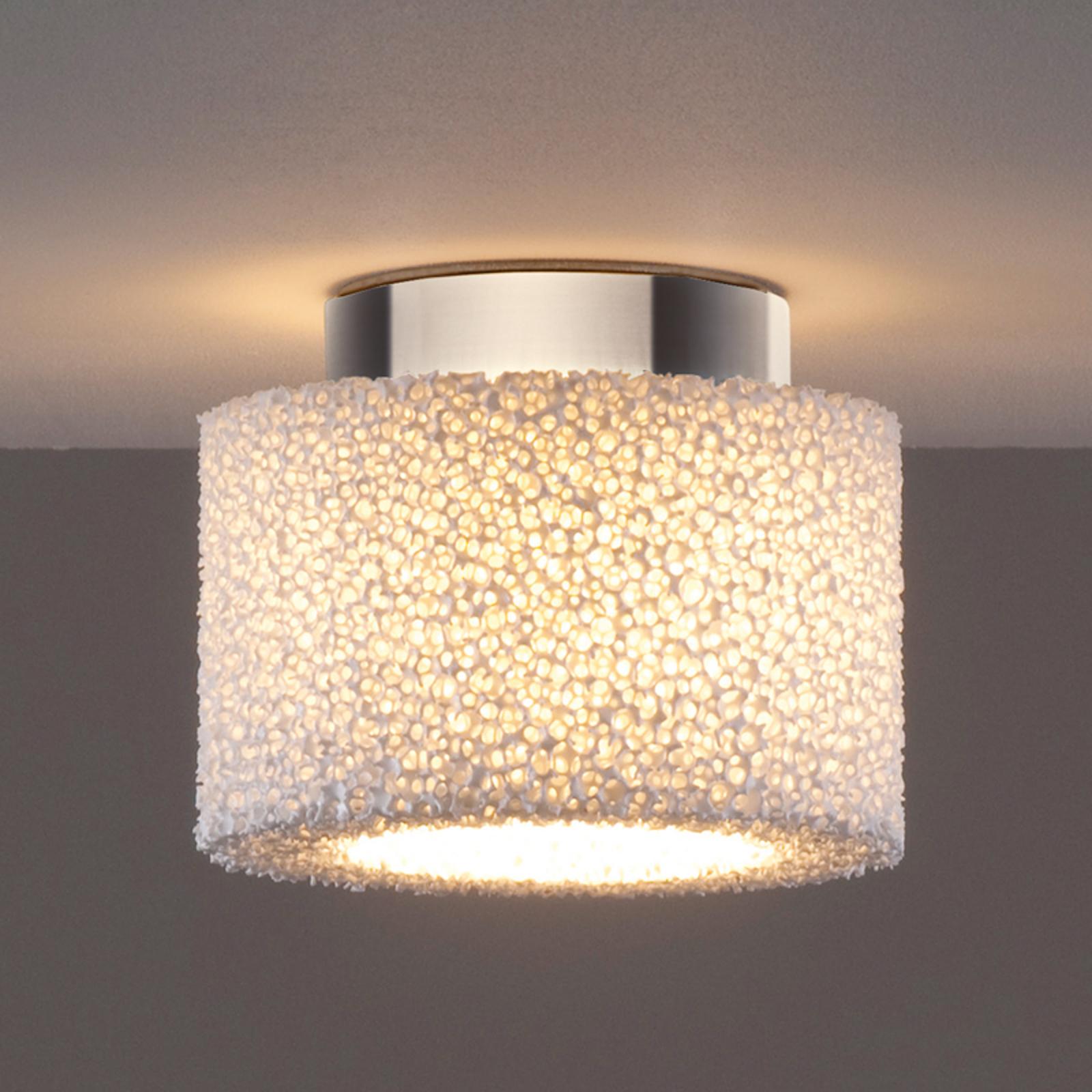 Reef – en LED-taklampe i keramisk skum