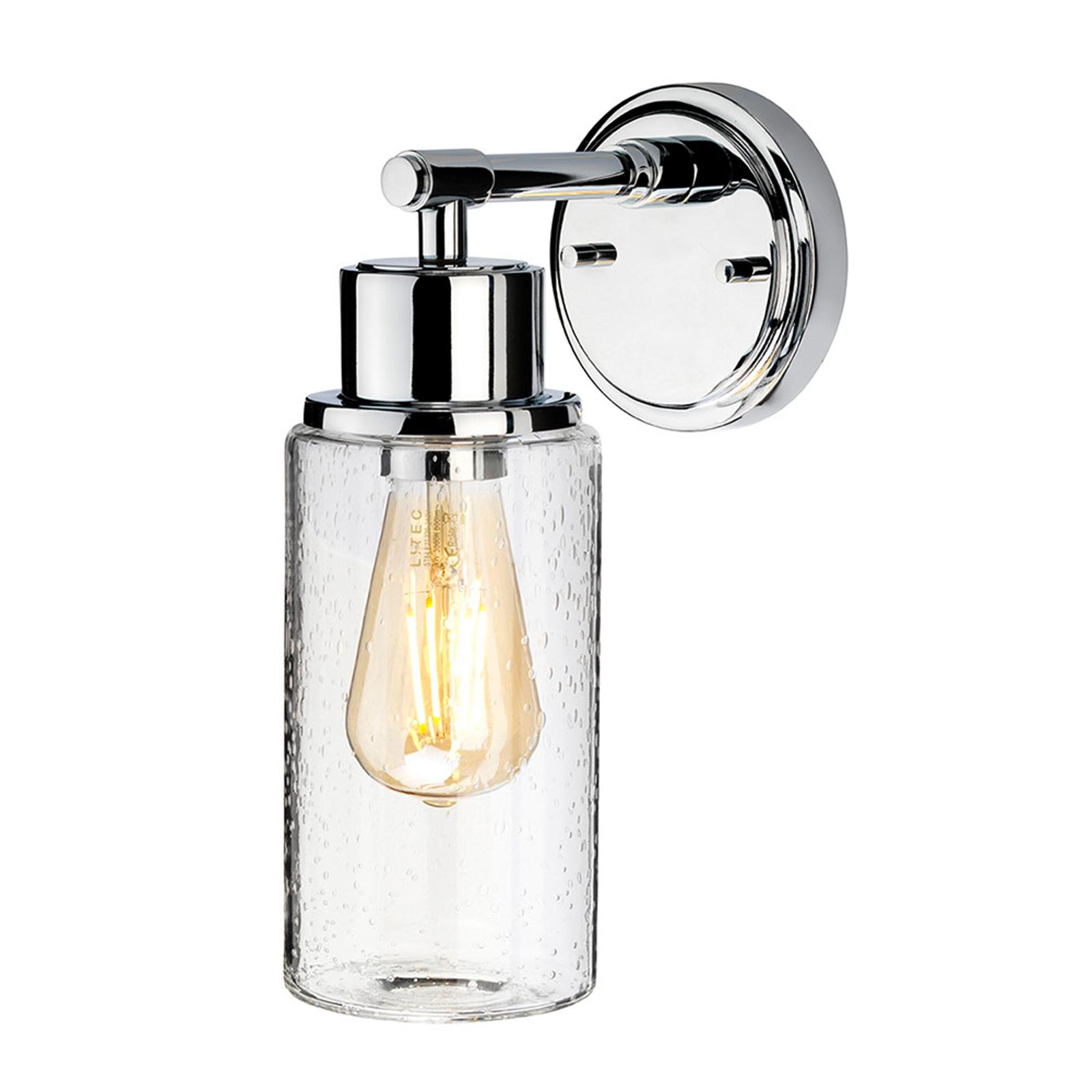 Applique LED Morvah salles de bain en chromé poli