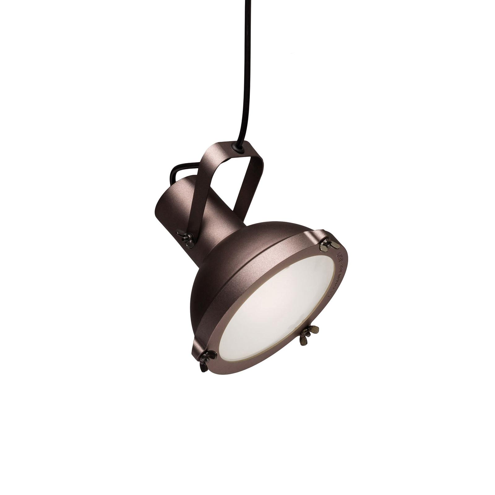Nemo Projecteur 165 lámpara colgante, marrón moca