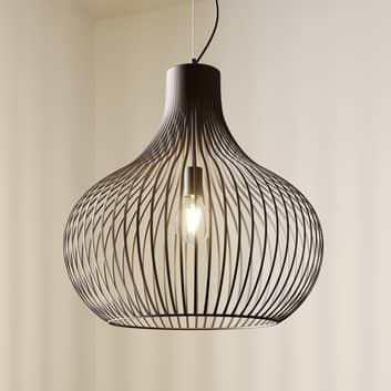Lámpara colgante tipo jaula Frances 1 brazo Ø 60cm
