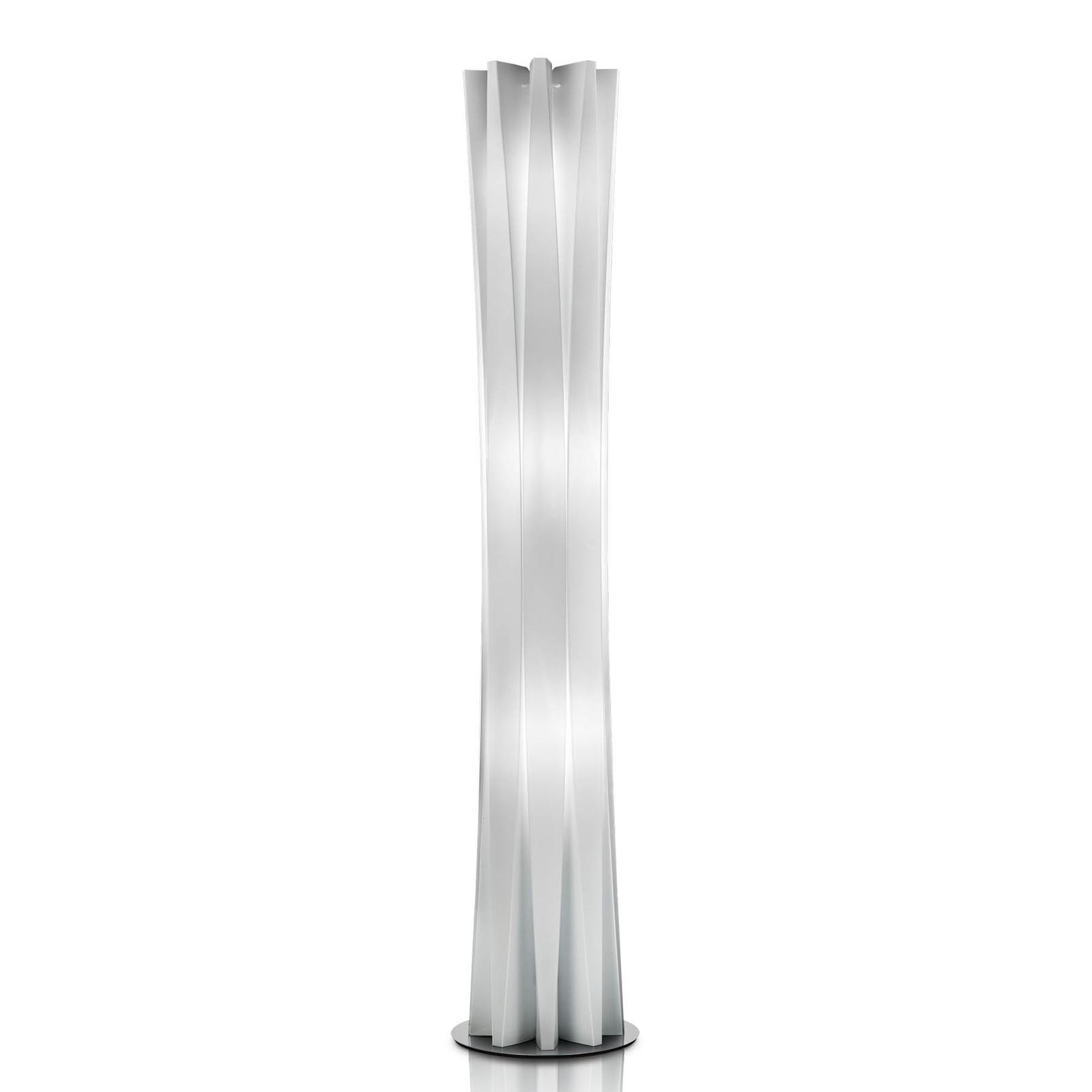 Slamp Bach, golvlampa, höjd 161 cm, vit