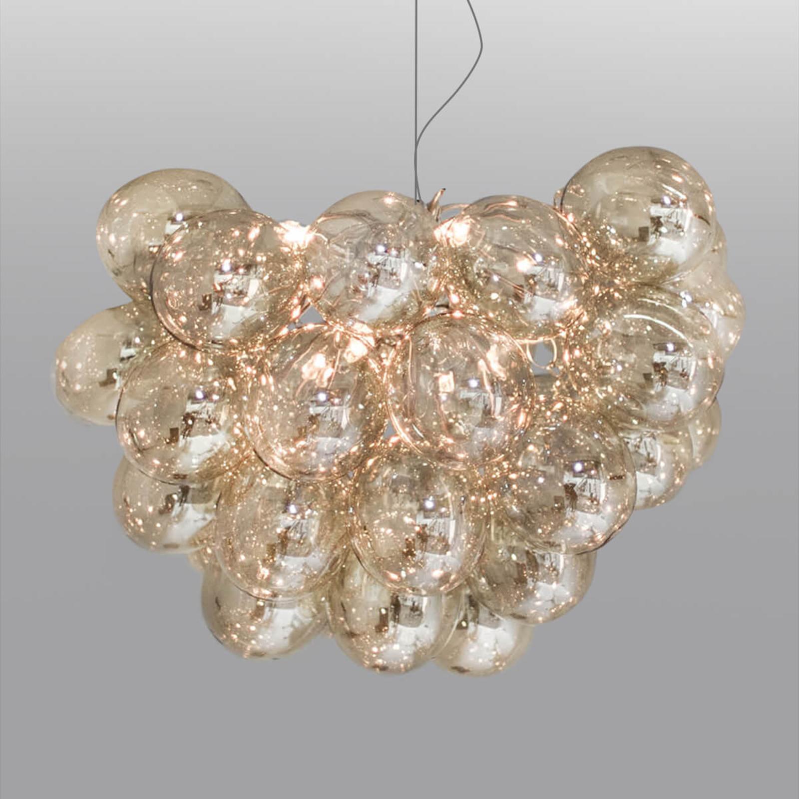 By Rydéns Gross lampa wisząca, 50 cm, bursztynowa