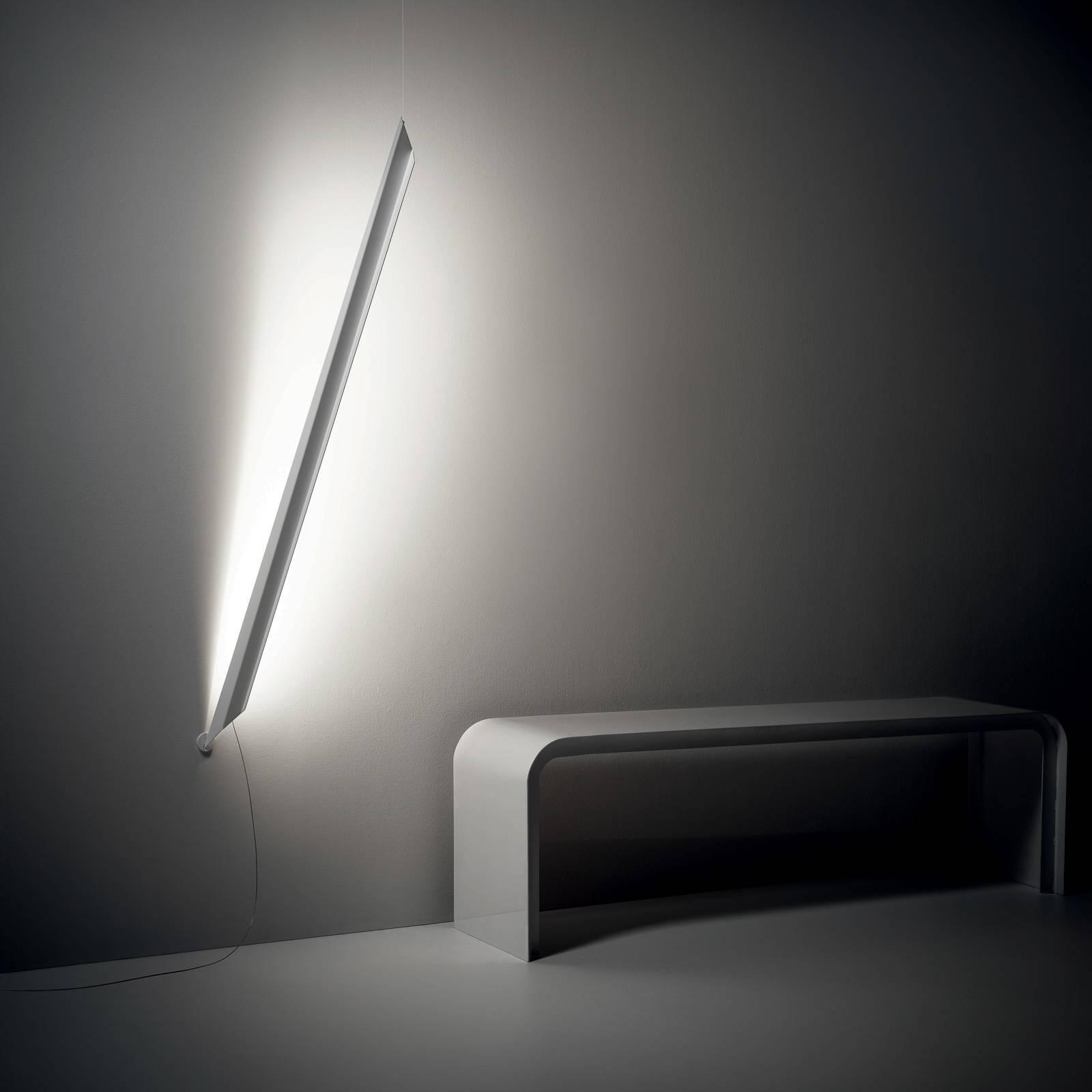 Knikerboker Schegge LED wandlamp, wit