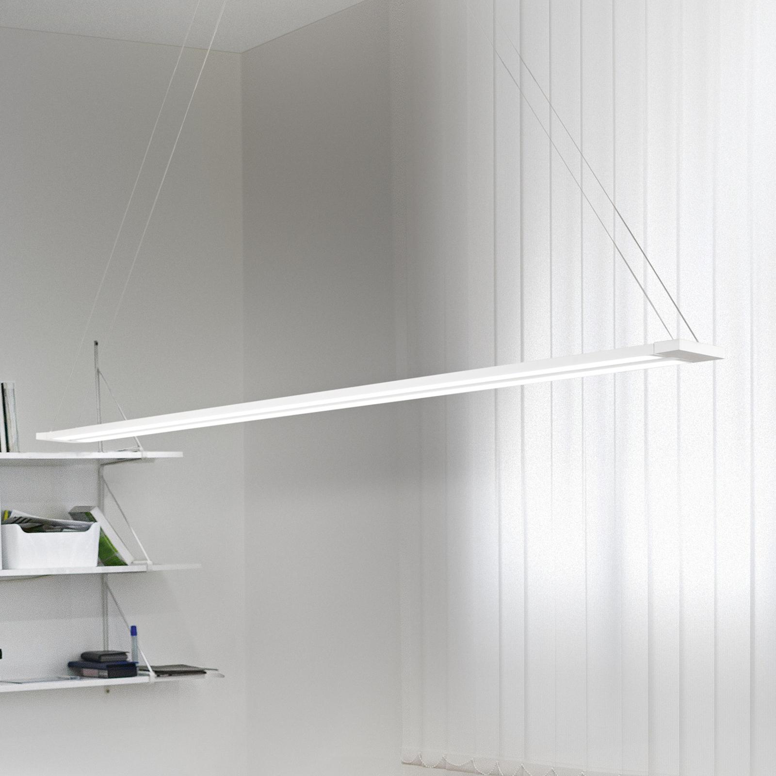 LED-Pendelleuchte Sway, Lichtelemente drehbar