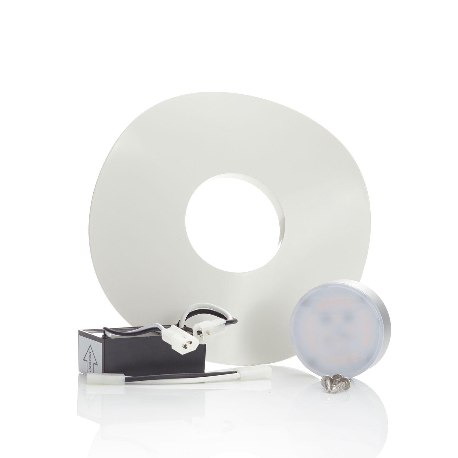 Aeratron LED-ljusset för fläkt FR, vit