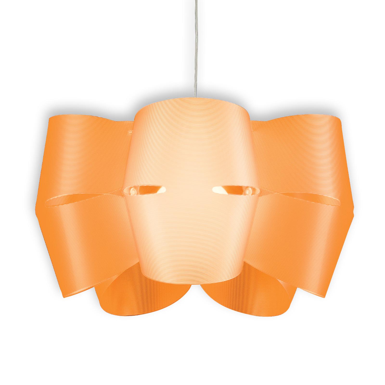 Mini Alien hængelampe, orangefarvet