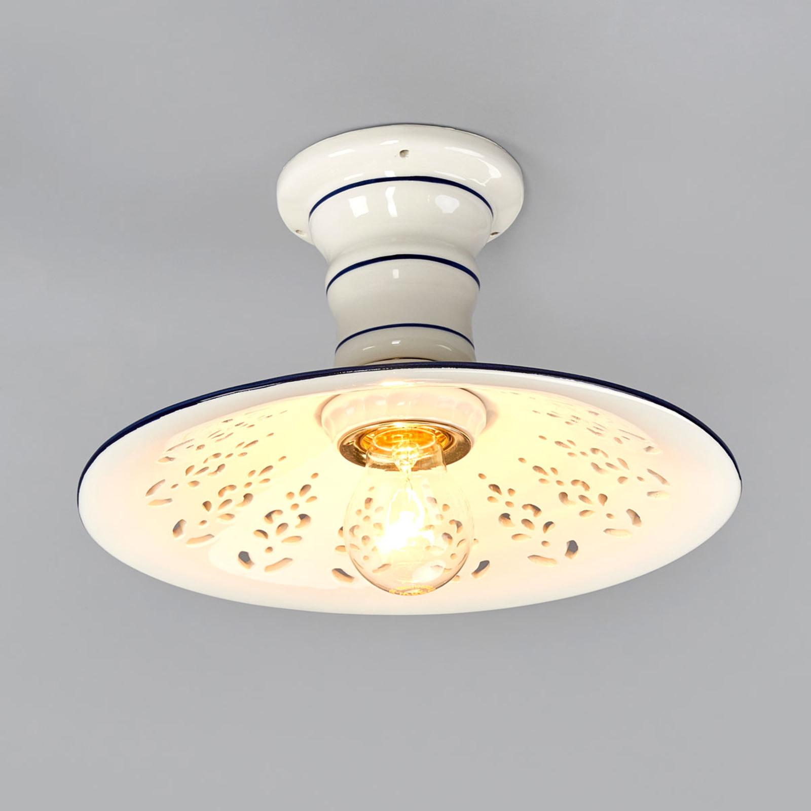 Elegante lámpara de techo AMENO