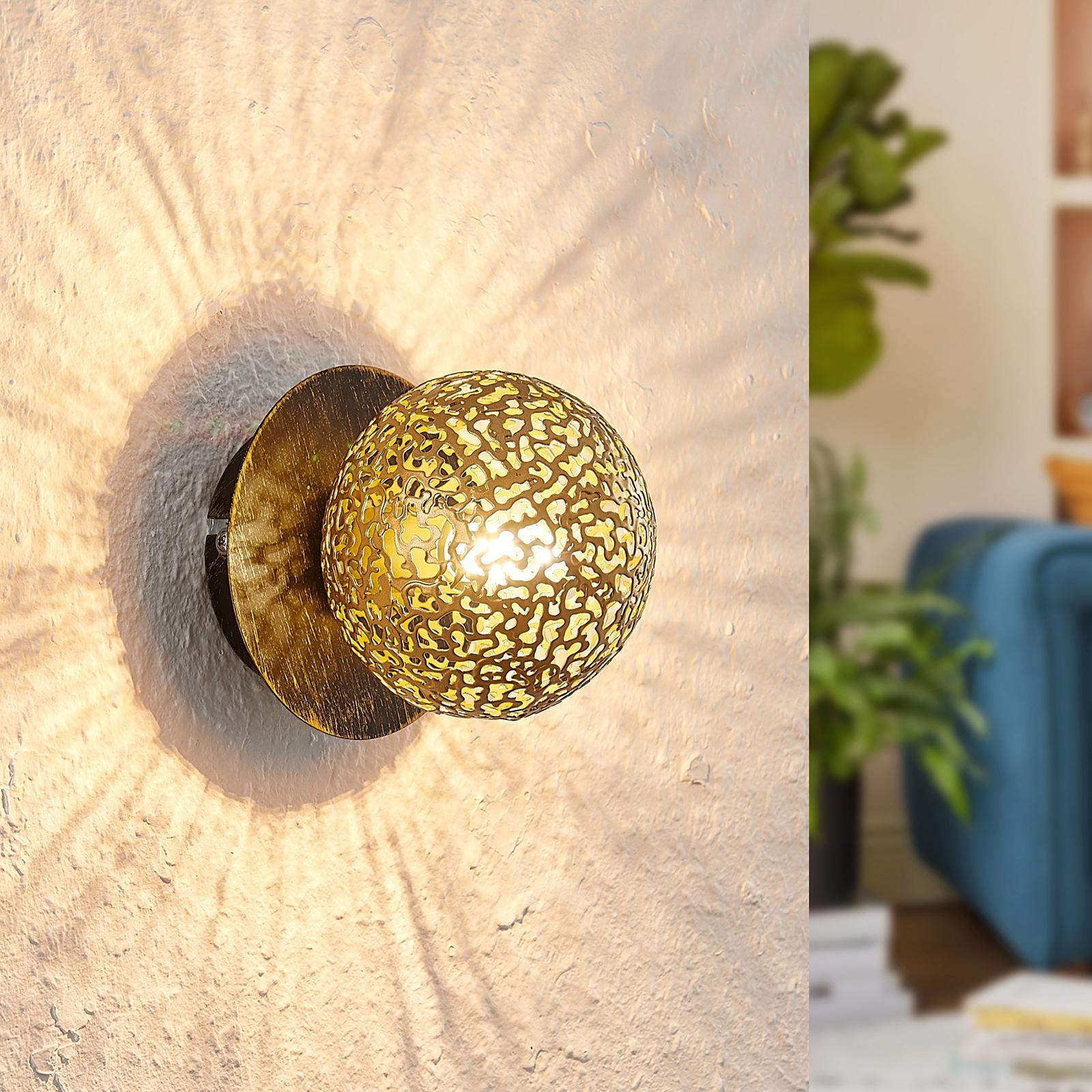 Lucande Evory nástěnné světlo, jednožárovkové