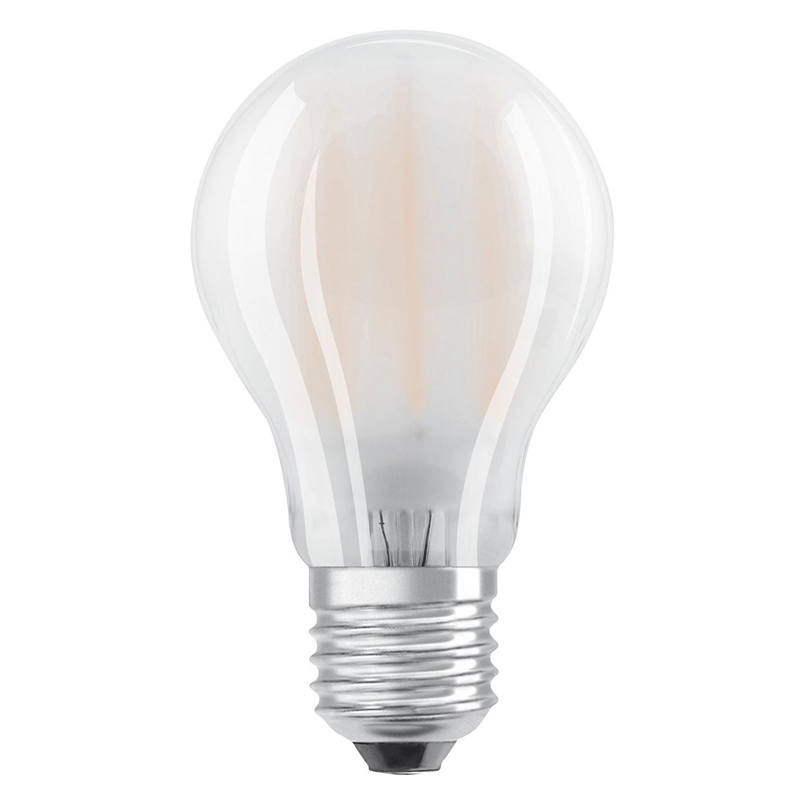 E27 7W 827 LED-Lampe 2er-Set, matt