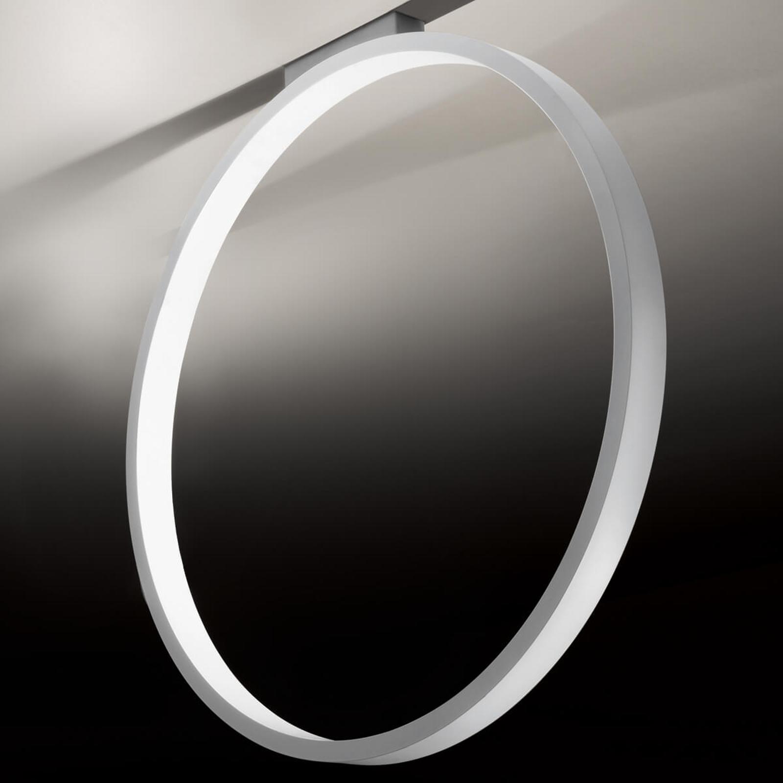 Lampa sufitowa Assolo, pierścień, 70 cm