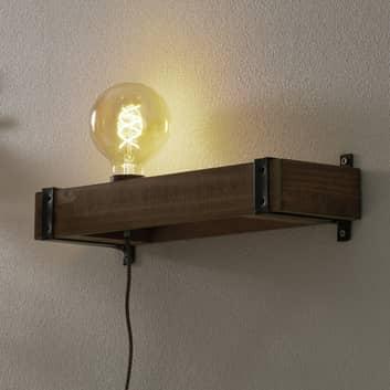 Wandlamp Legno met kabel en stekker