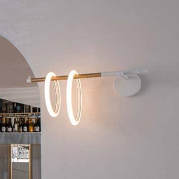 Ulaop LED-væglampe, to ringe