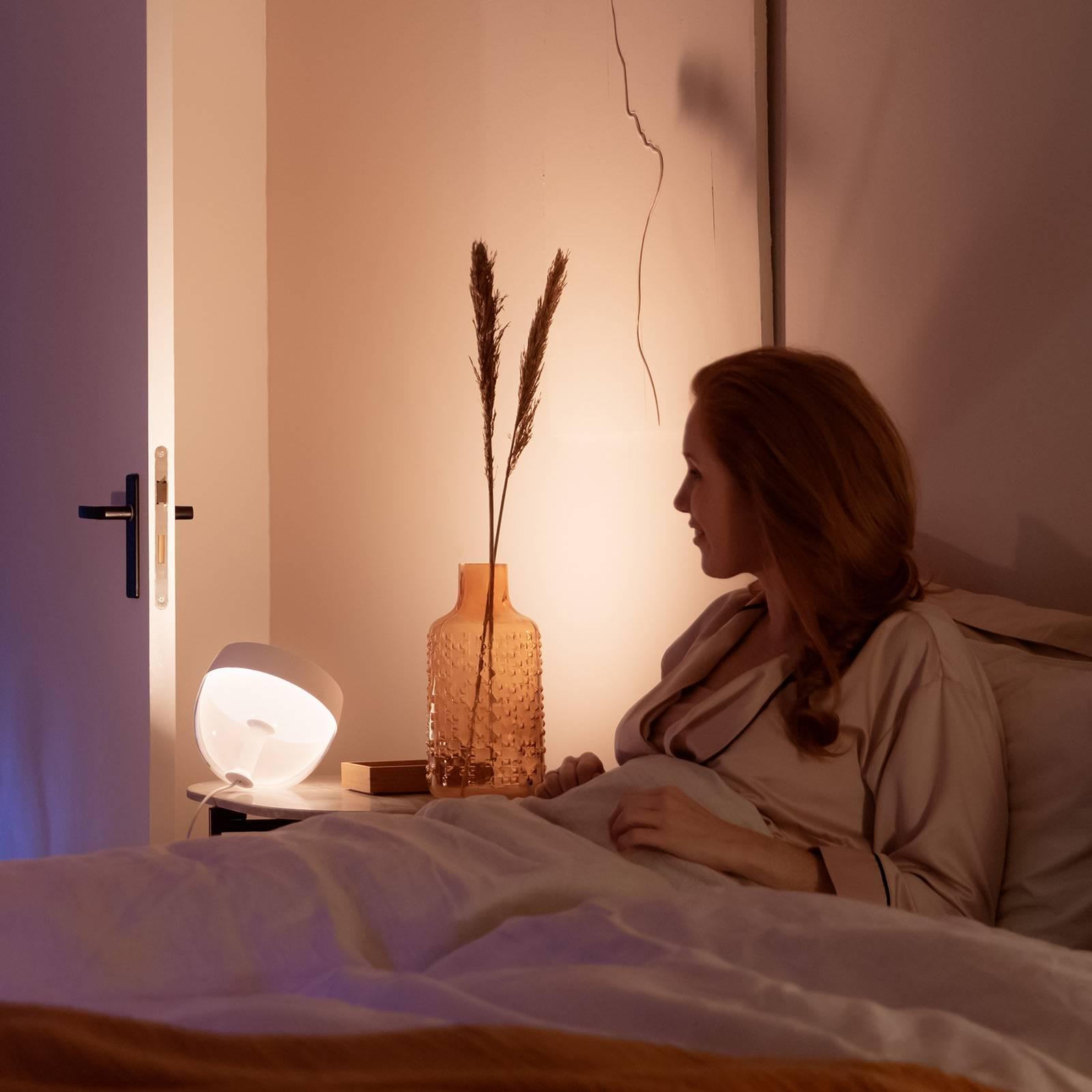 Philips Hue Iris WACA LED tafellamp, wit