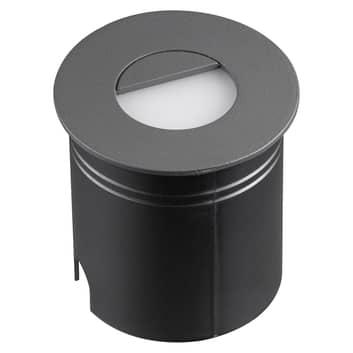 Aspen LED-indbygningslampe med diffusor, rund