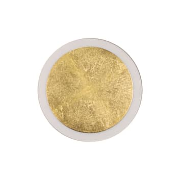 LED-Wandleuchte Moon gold