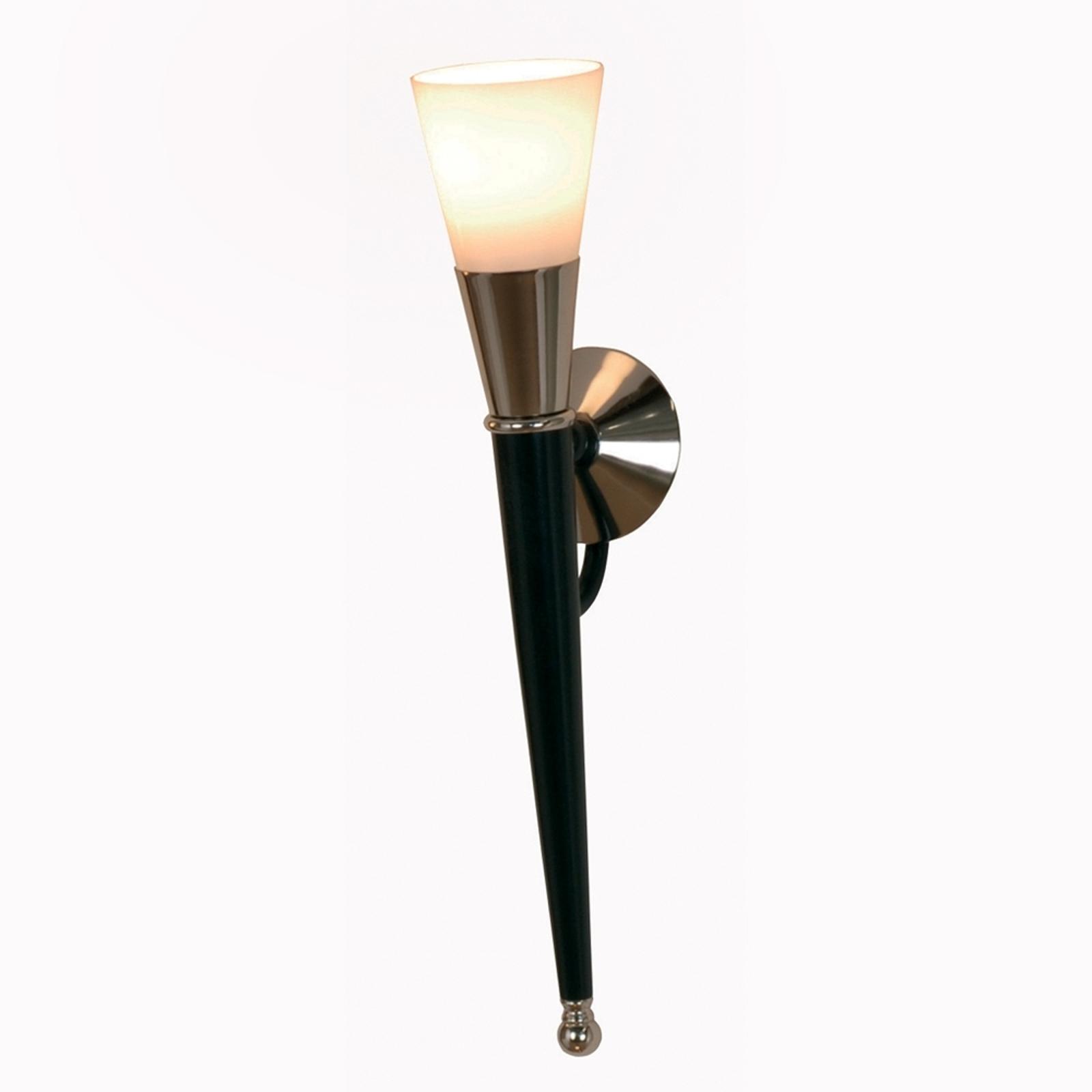 Fakkelvormige wandlamp ANTOSA, hoogte 60 cm