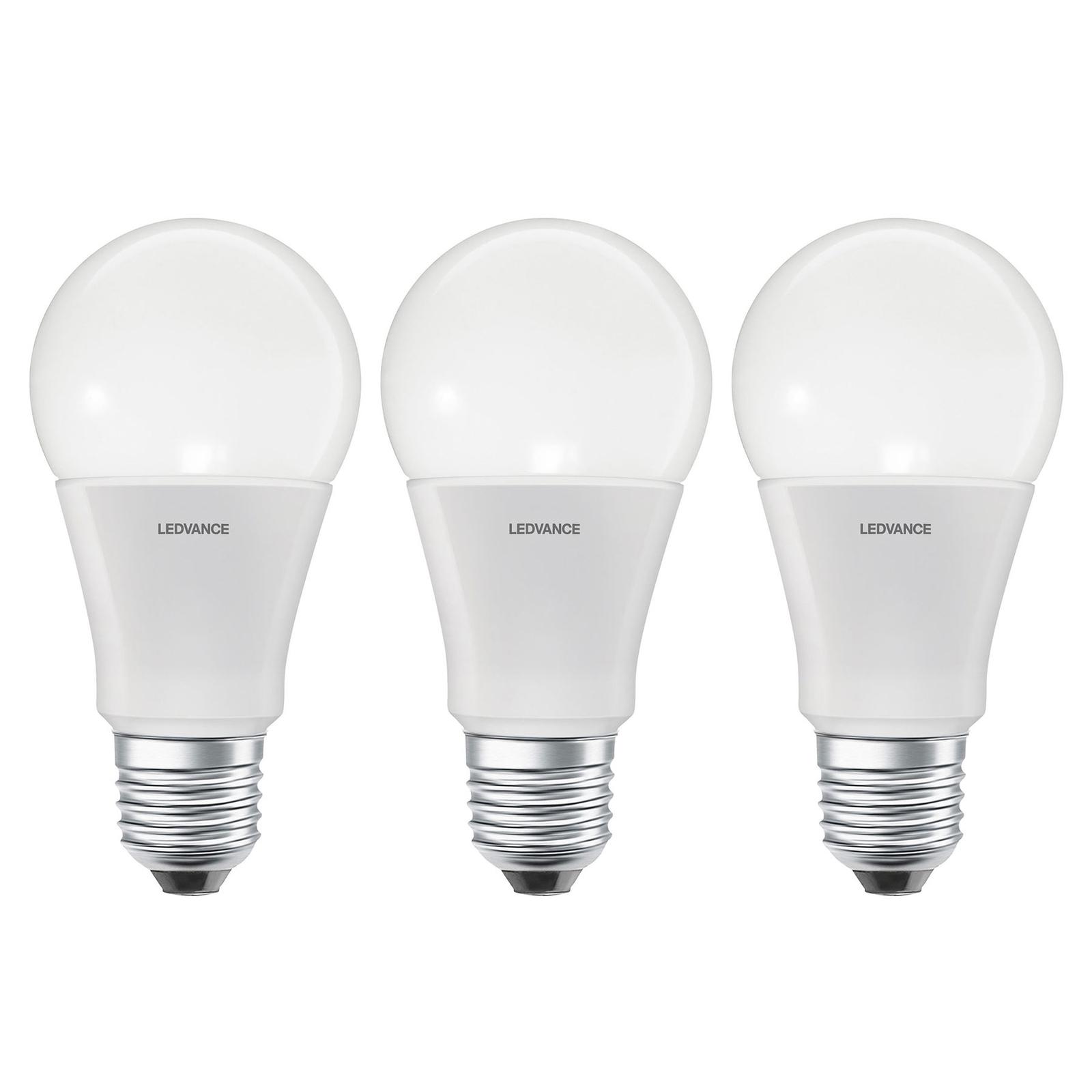 LEDVANCE SMART+ WiFi E27 9W Classic 2700K 3szt.