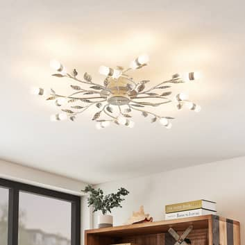 Lindby Bolonia LED-taklampa, vit
