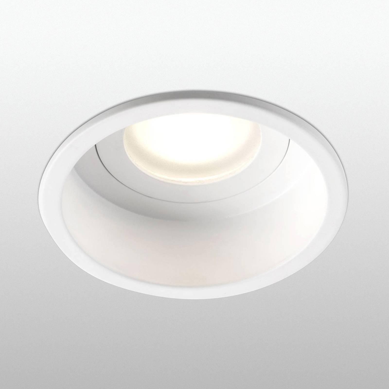 Faretto da incasso Hyde a 1 luce tondoIP44 bianco