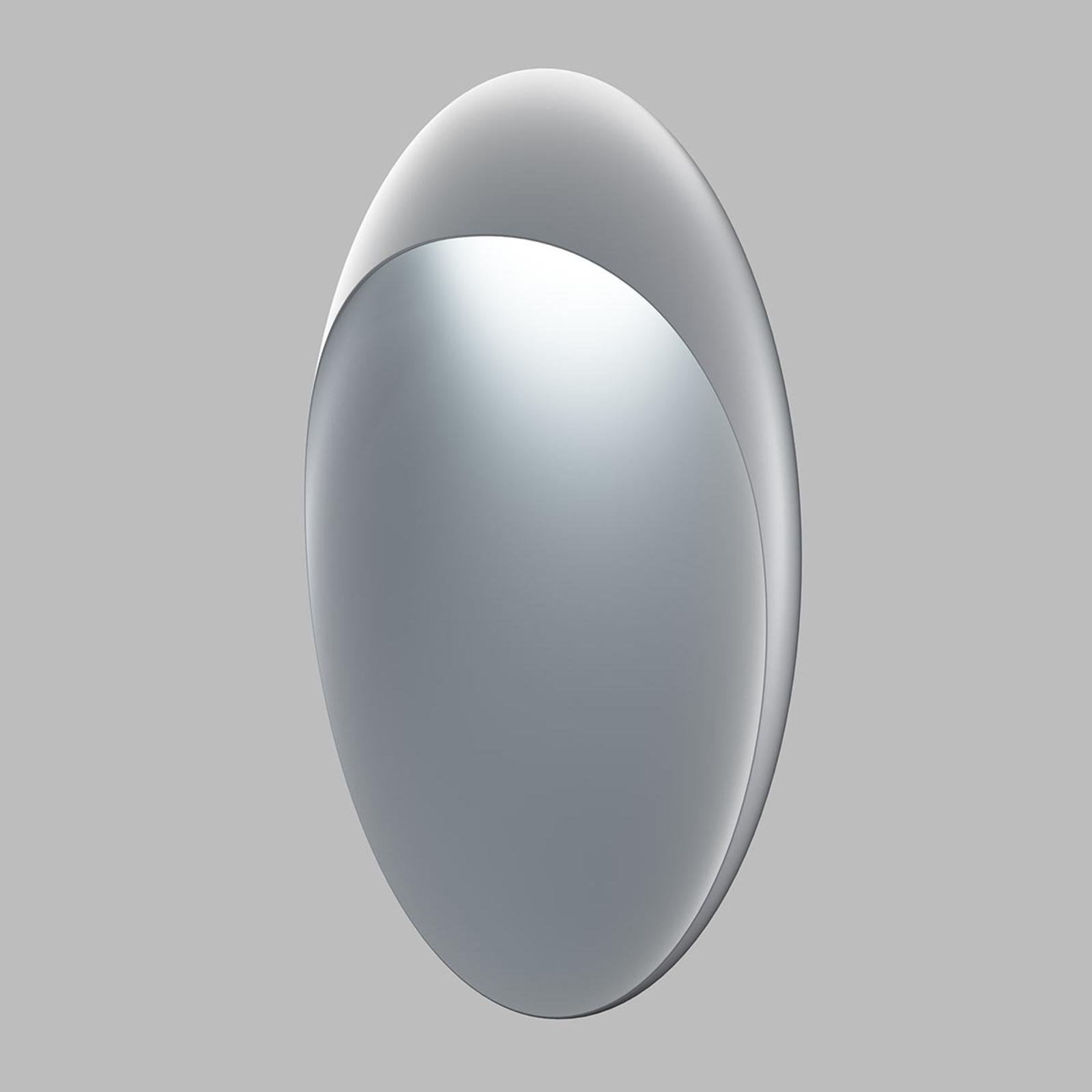 Louis Poulsen Flindt vägglampa Ø20cm alumin. 2700K