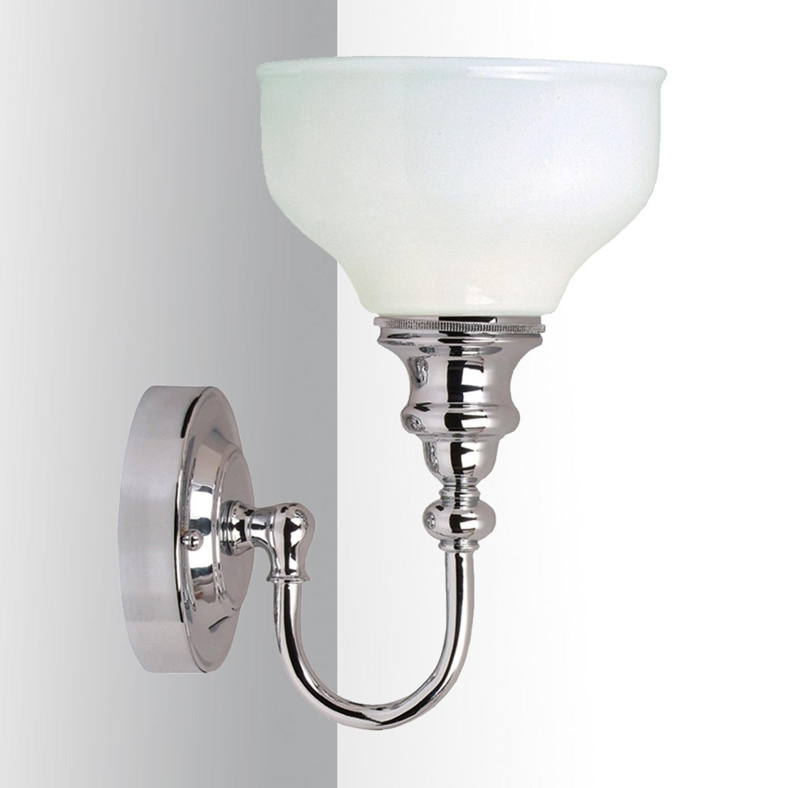 Fraaie spiegellamp Cheadle, 1-lichts