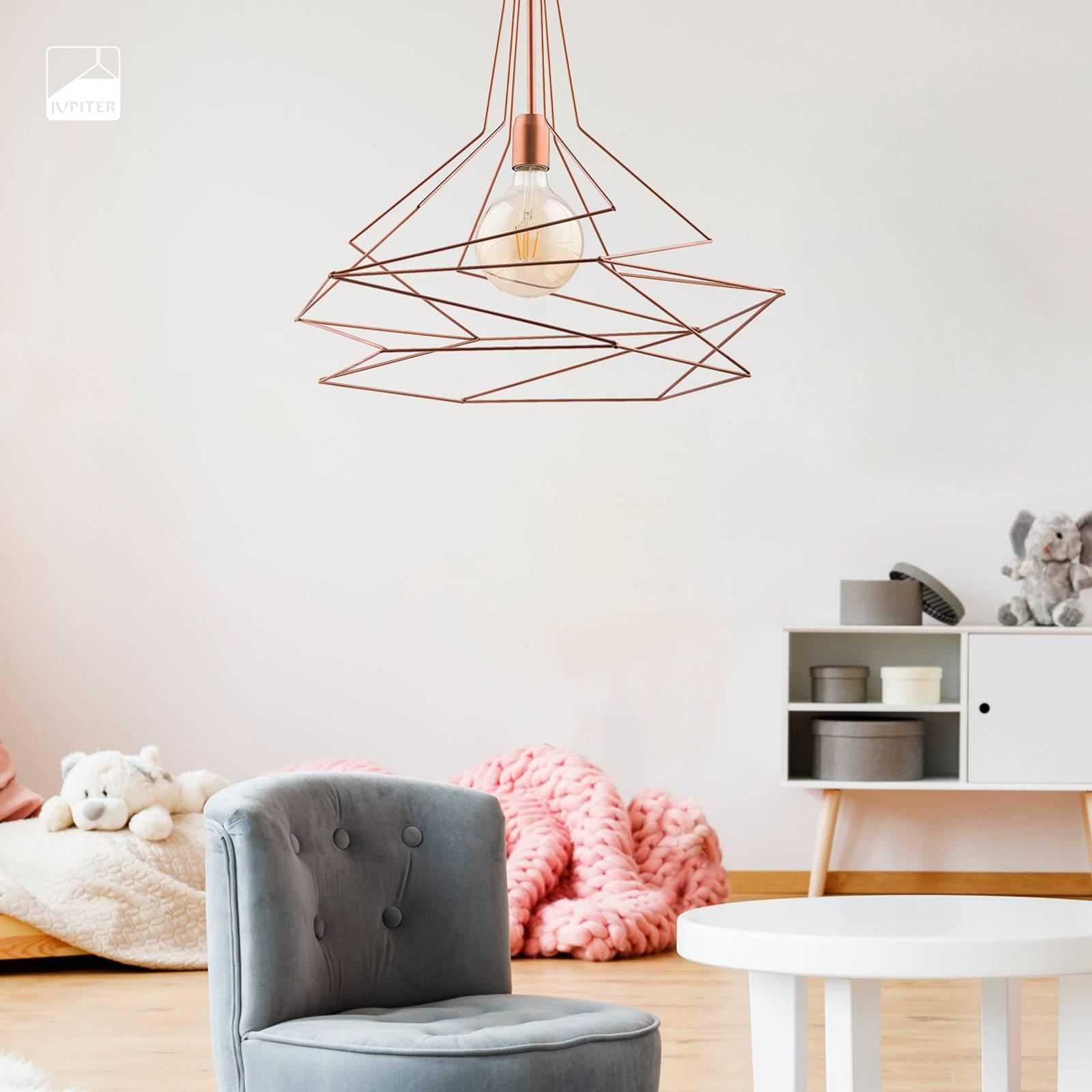 Hanglamp Sangria, Ø 56 cm koper