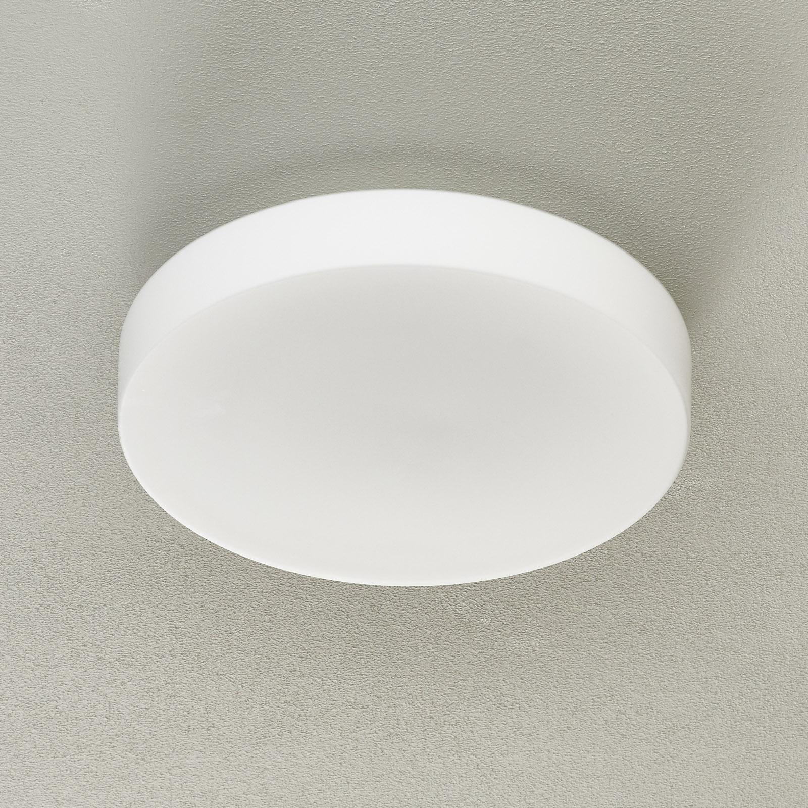 BEGA 34288 lampa sufitowa LED biała DALI Ø 39 cm