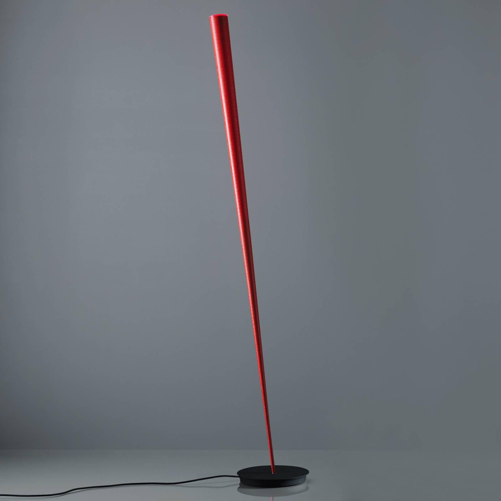 Lampadaire de designer Drink en rouge