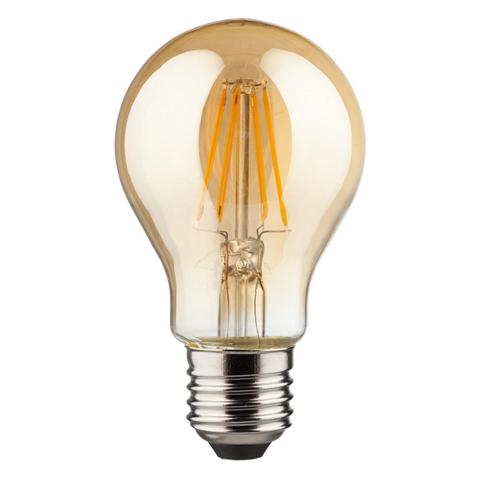 E27 4W 820 LED-Filament-Lampe gold