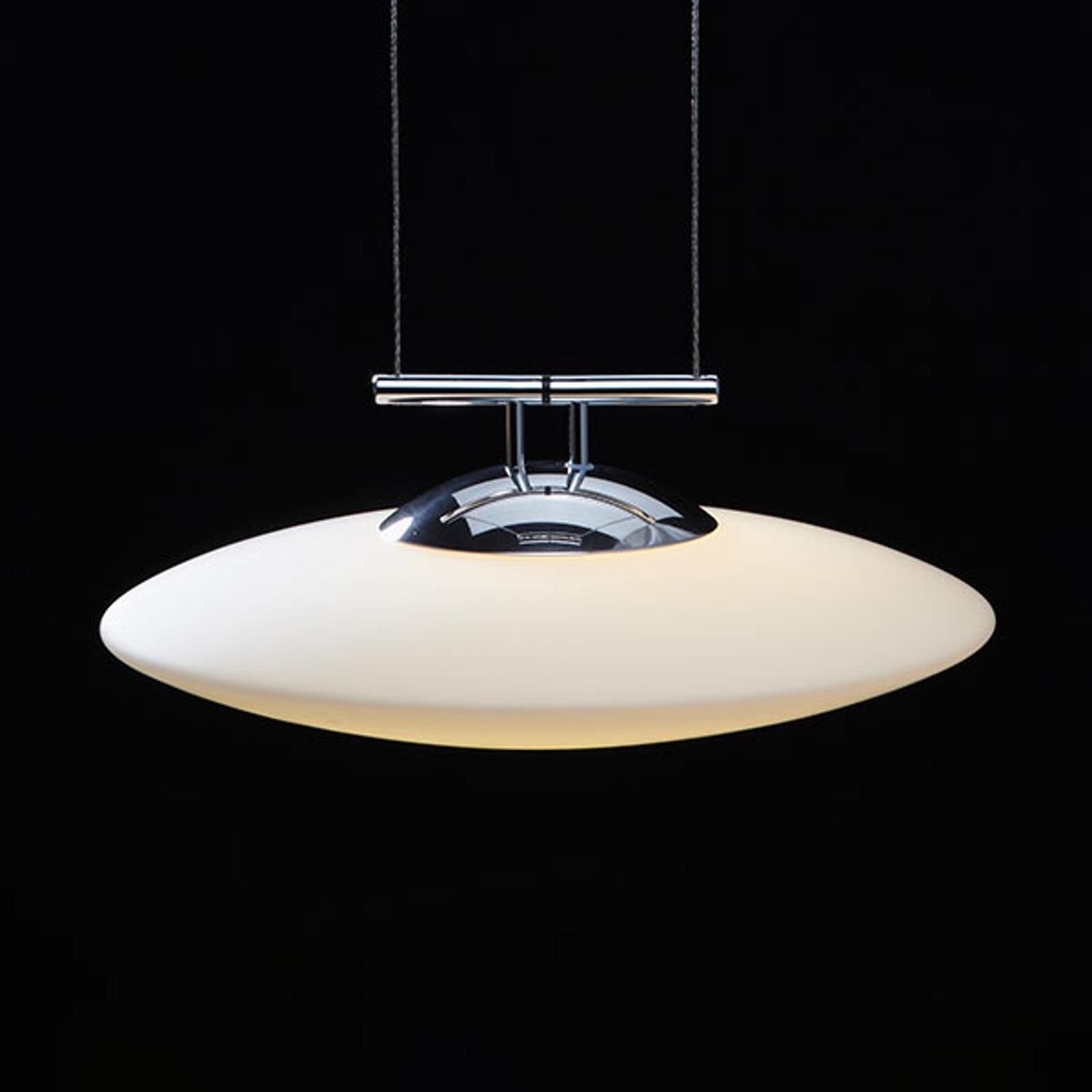 LDM Lunaled Grande Uno LED-Hängeleuchte, poliert
