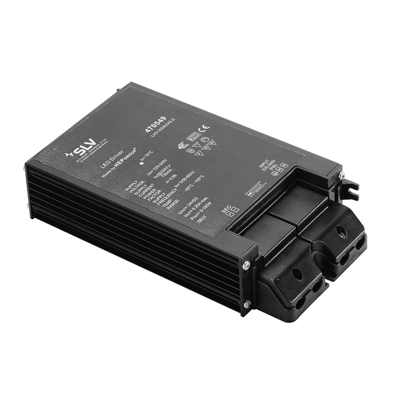 SLV bloc d'alimentation LED 24V DC/150W