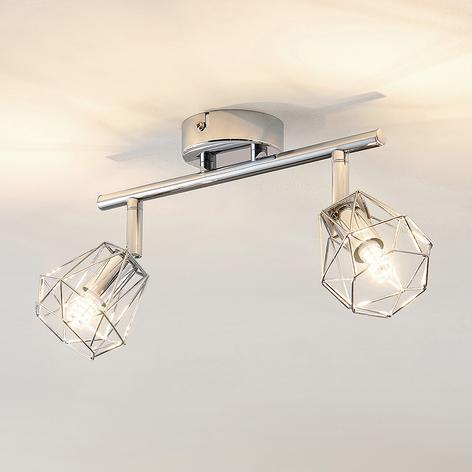 Lindby Giada LED stropní světlo, dvoužárovkové