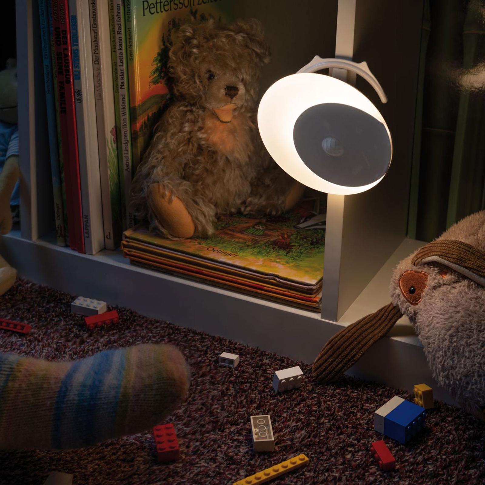 Paulmann Viby LED-Nachtlicht, mobil, rund