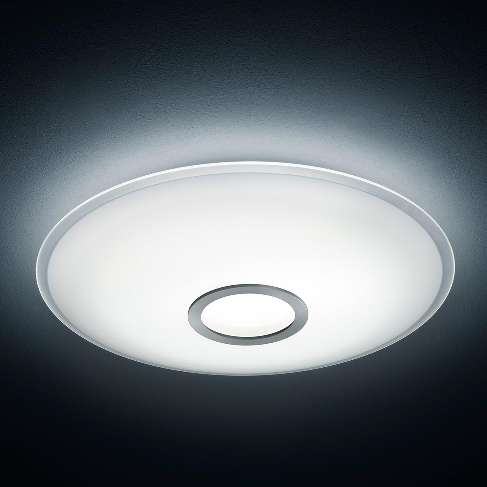Plafoniera LED Nuno nichel opaco