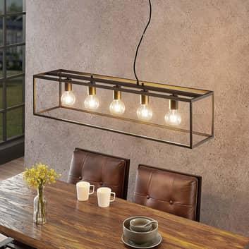 Lindby Disha hänglampa, 5 lampor
