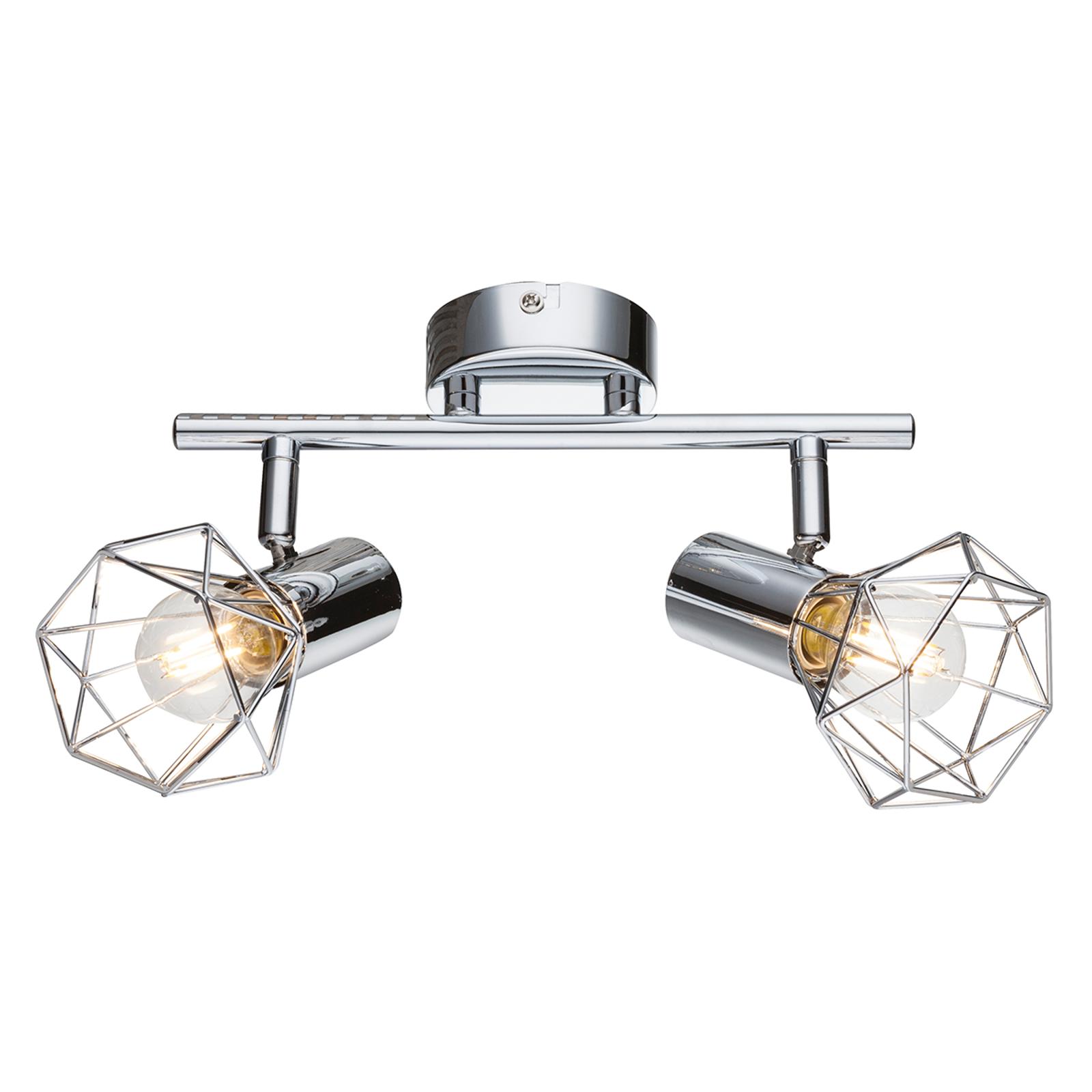 Ultranowoczesna lampa sufitowa Daiva 2-punktowa