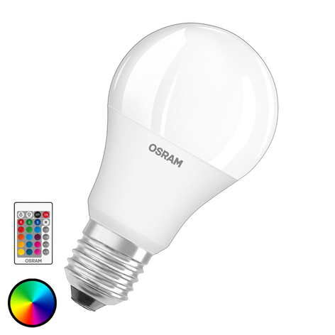 OSRAM LED-Lampe E27 9W Star+ RemoteControl matt