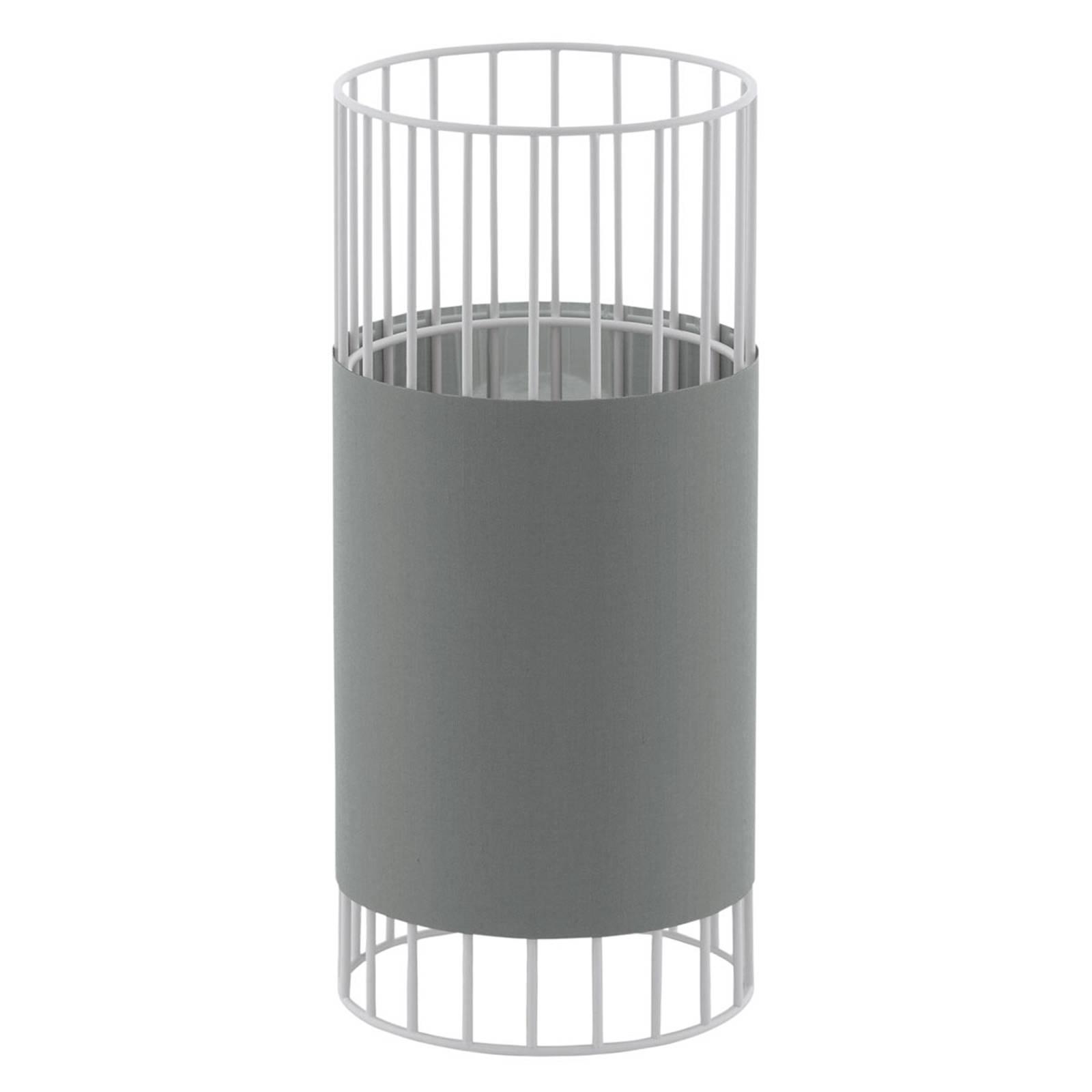 Tischleuchte Norumbega mit zylindrischem Schirm