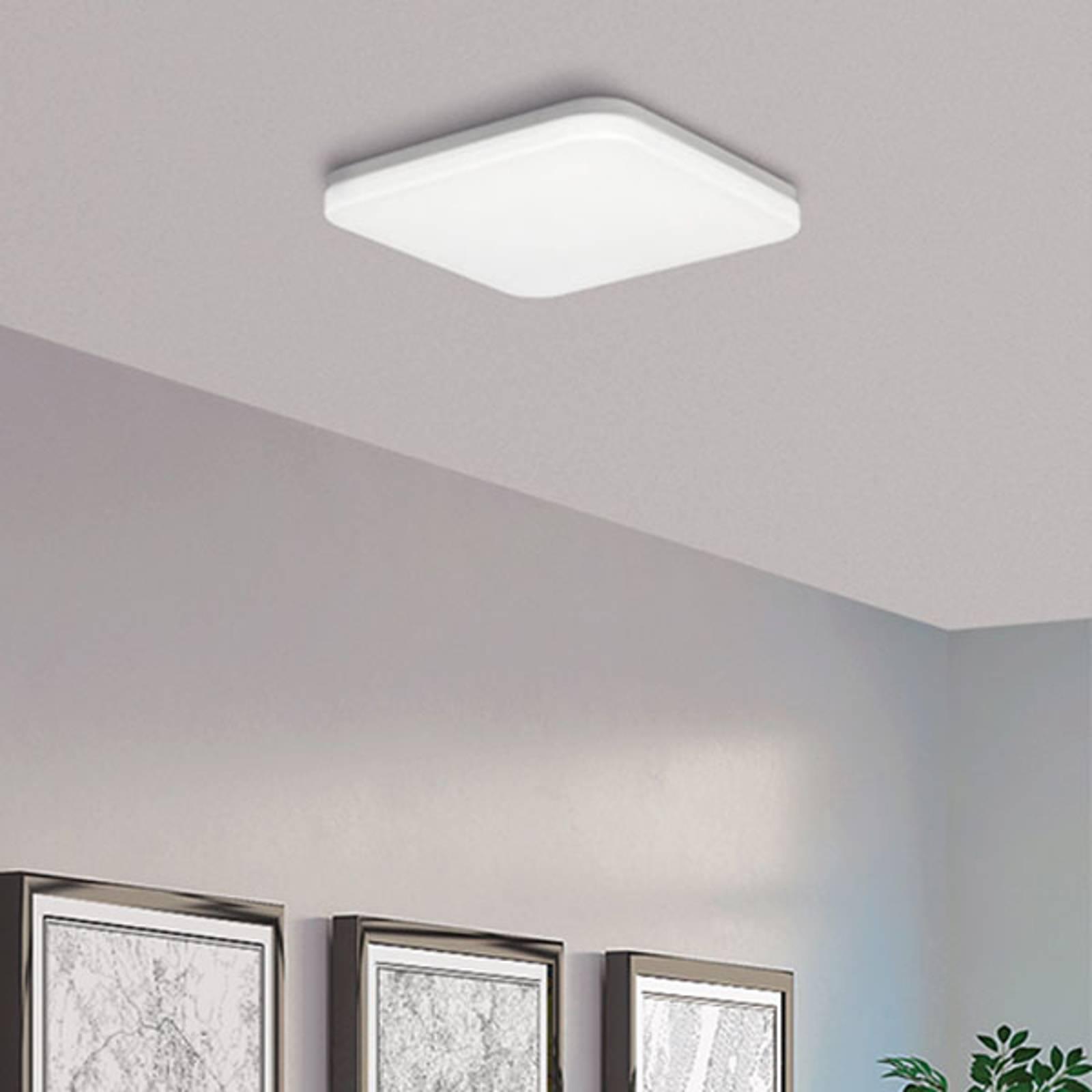 LED plafondlamp Uzza, Triac, 3.000K, met Casambi