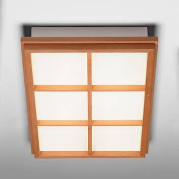 Rektangulær loftlampe Kioto 6