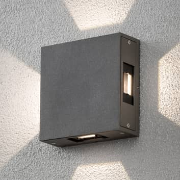 Cremona - justerbar LED-utomhusvägglampa, antracit