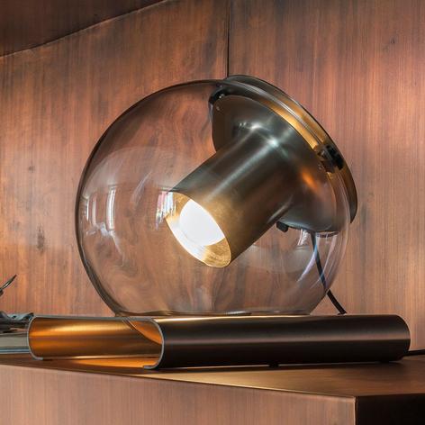 Oluce The Globe - Tischleuchte aus Glas
