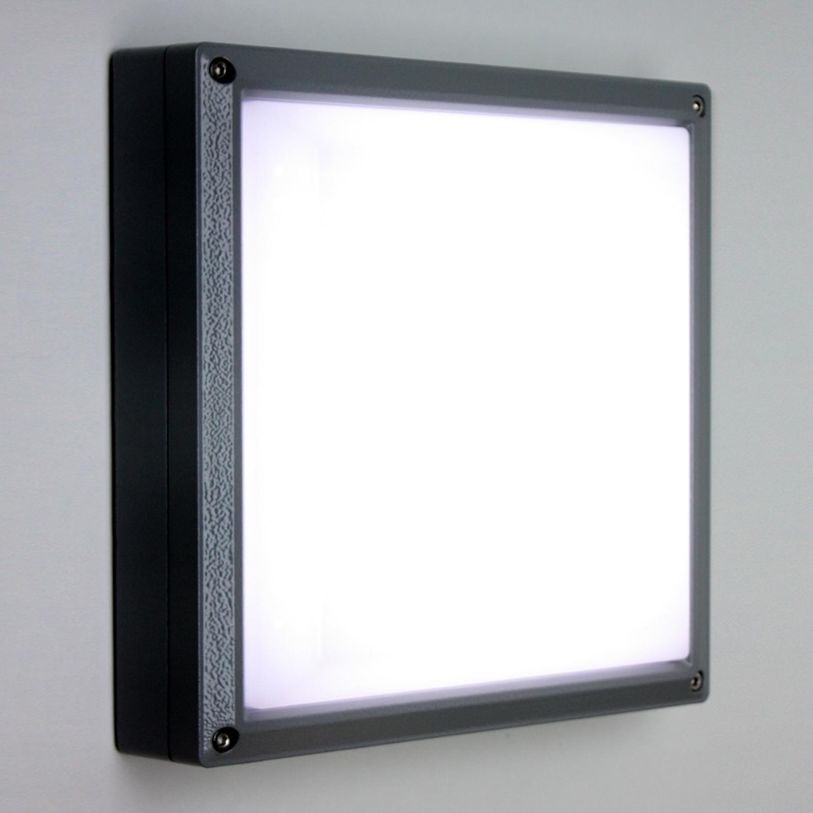 Applique SUN 11 LED 13W anthracite 4 k