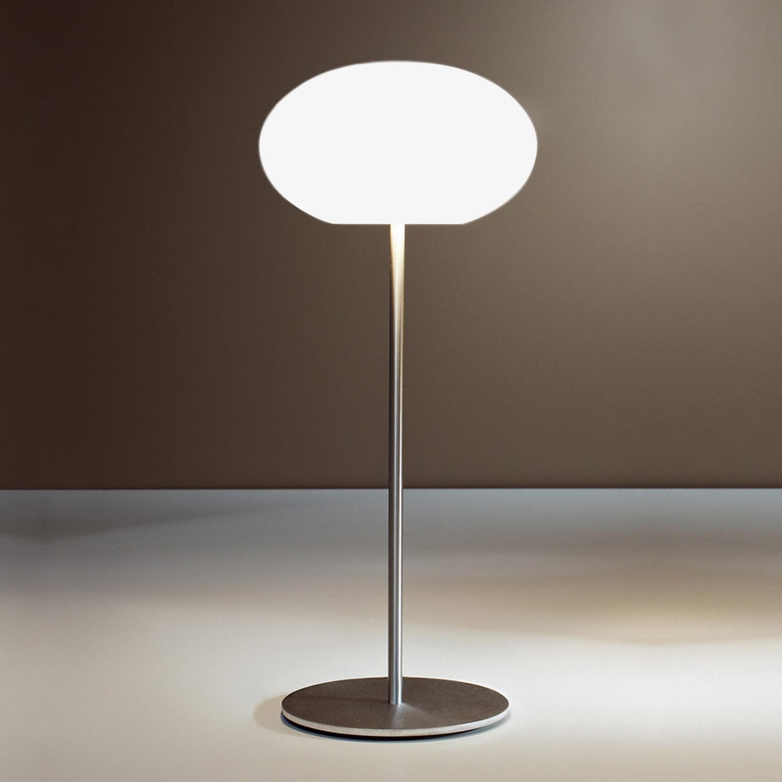 Casablanca Aih tafellamp, Ø 19cm wit mat