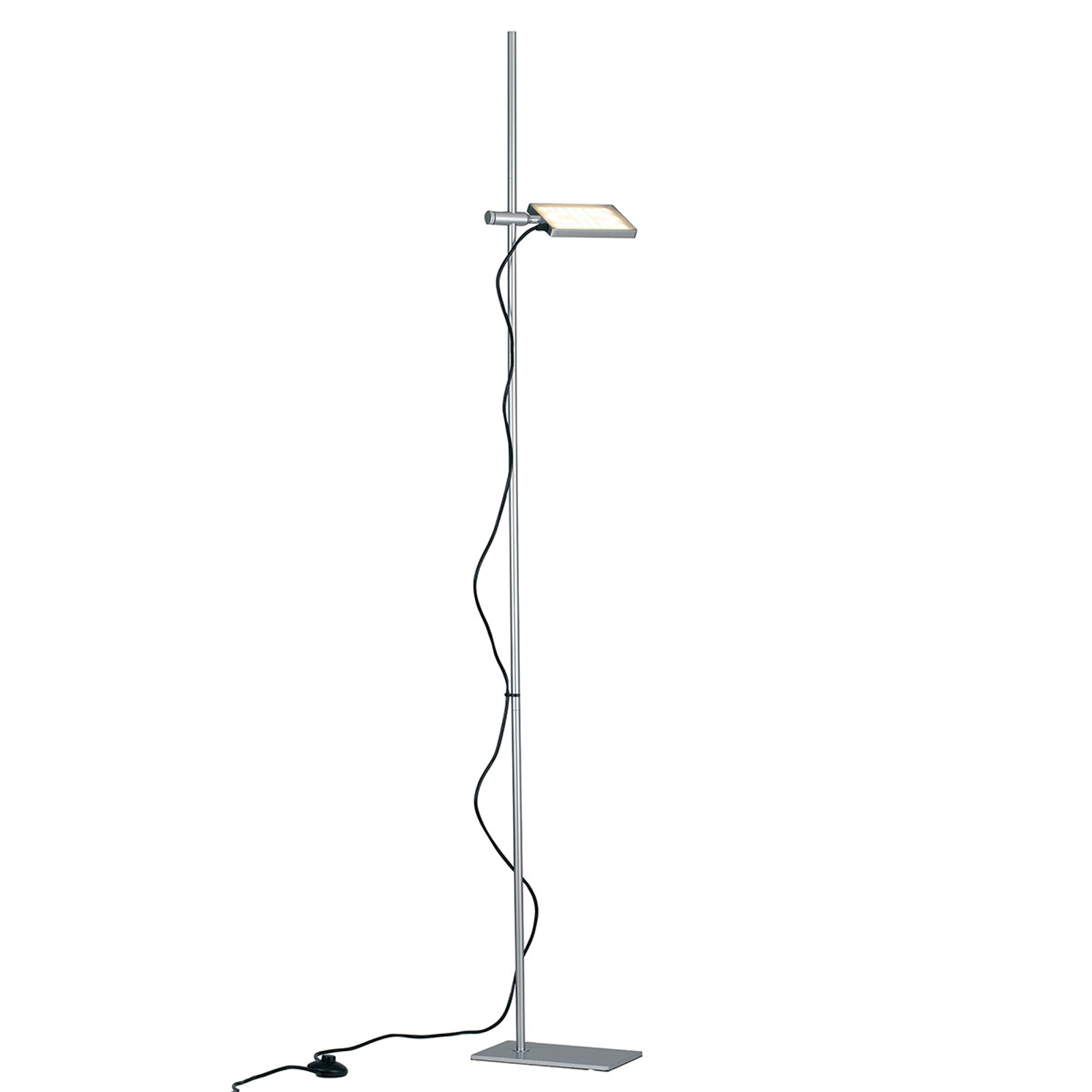 Lampadaire LED Book, gris