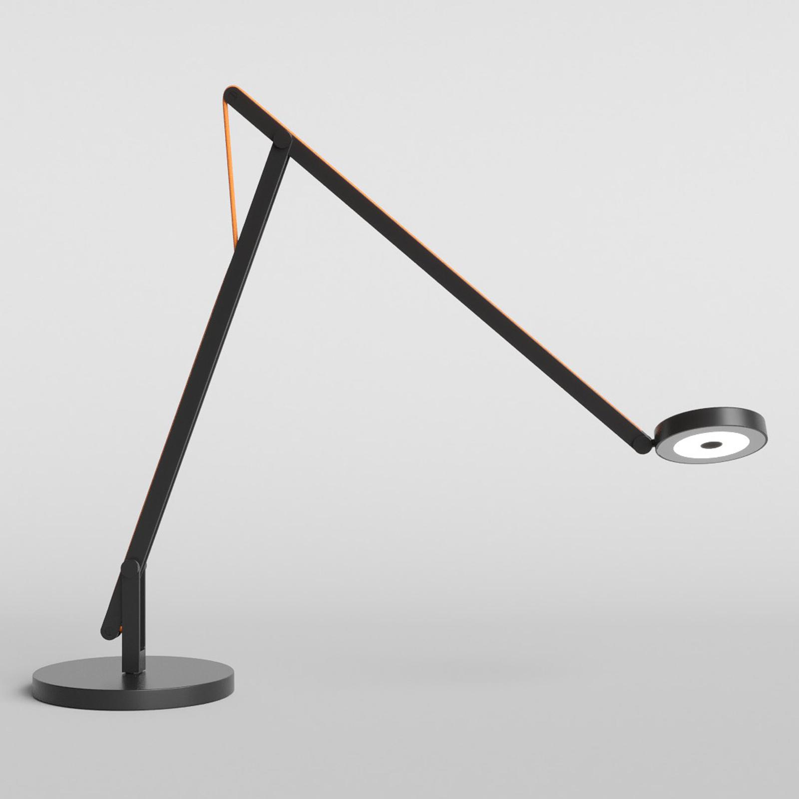 Rotaliana String T1 DTW LED-Tisch schwarz, orange