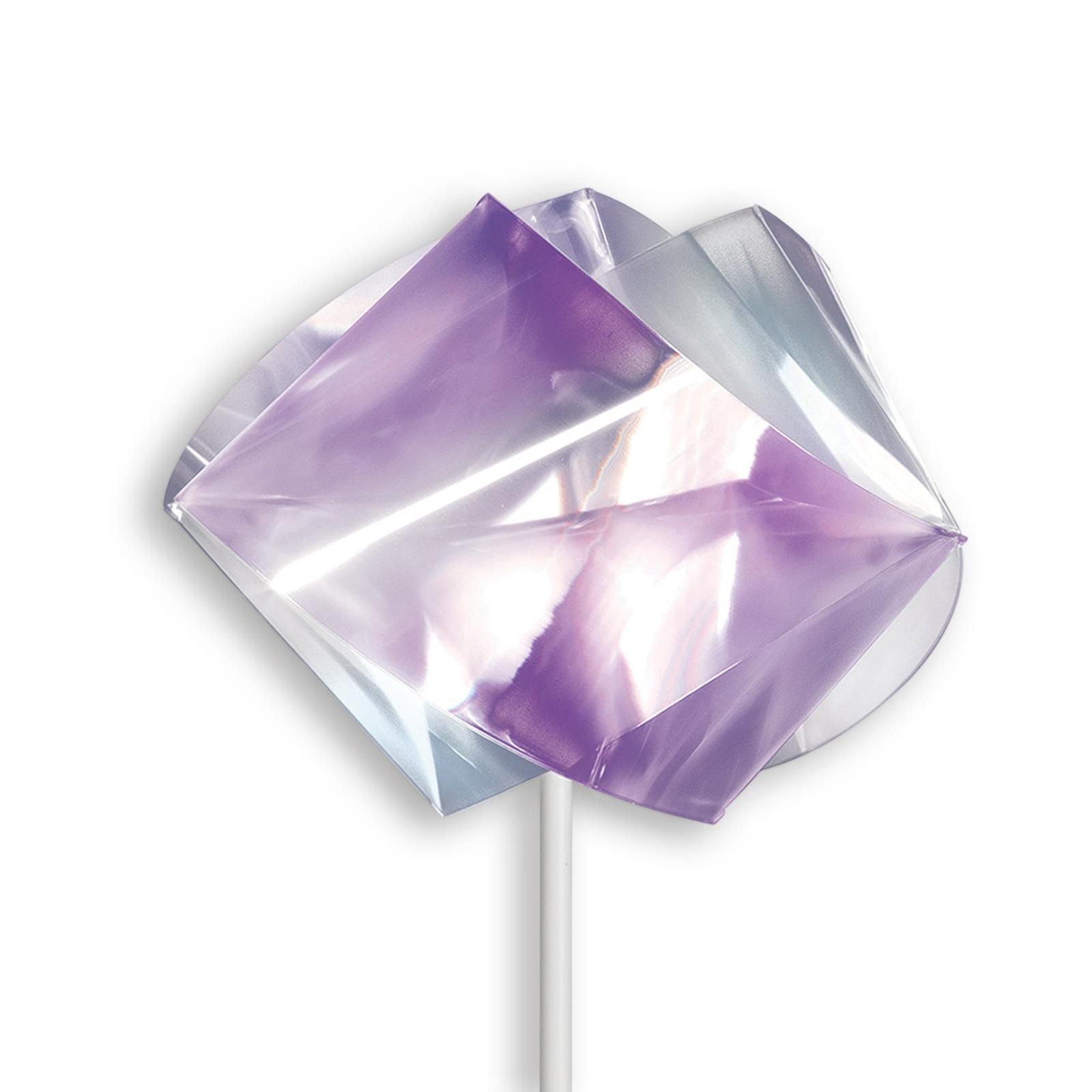 Slamp Gemmy Prisma - Design-Stehleuchte, violett