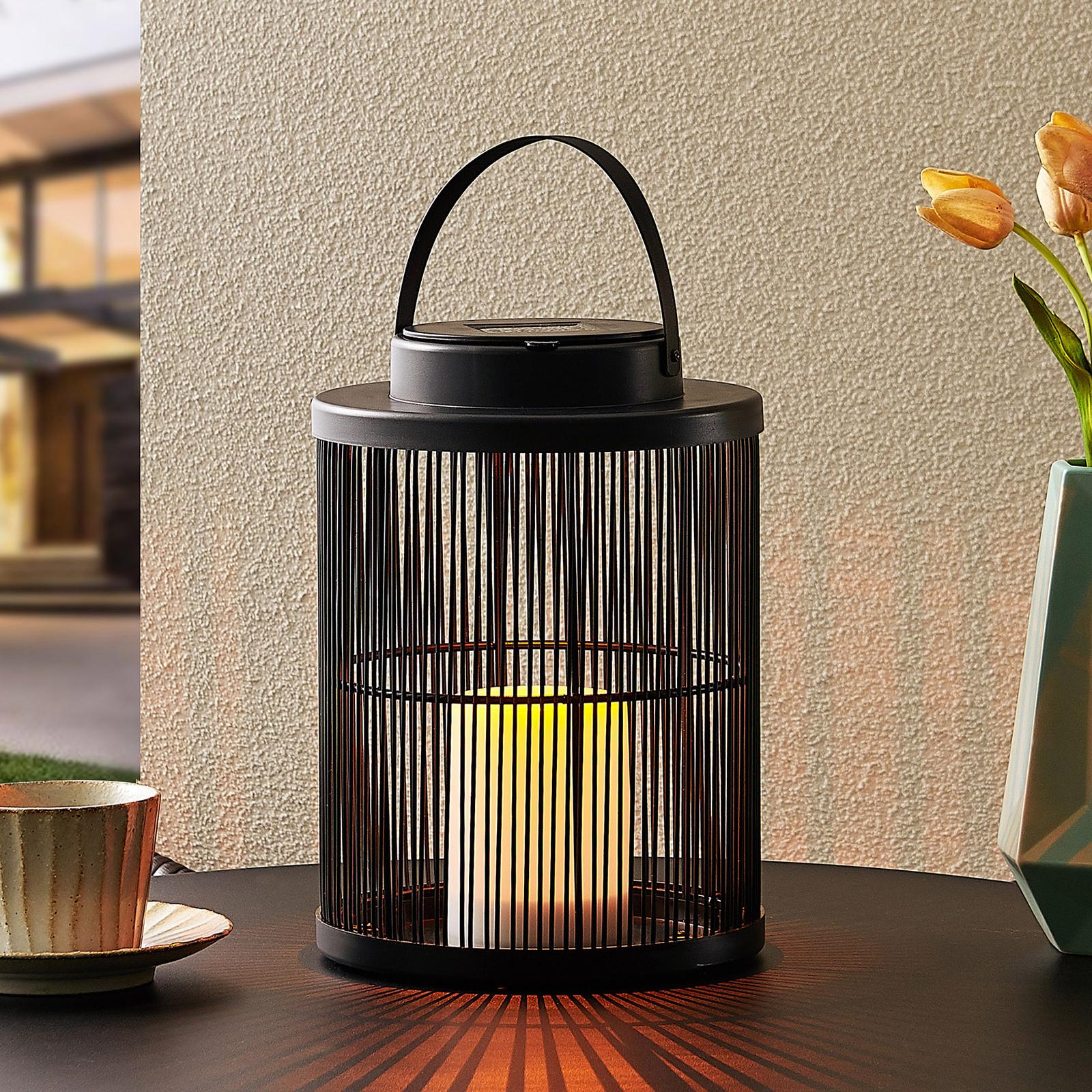 Lindby Balkis solcelle-dekolampe, højde 25,4 cm