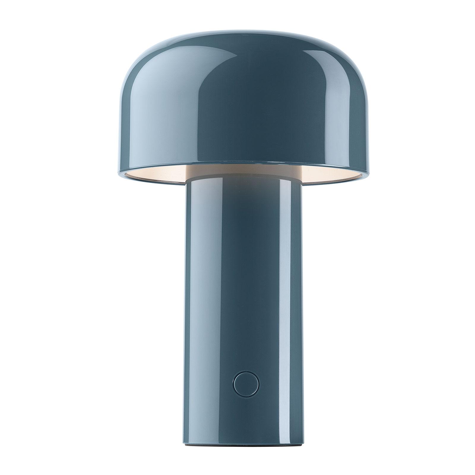 FLOS Bellhop ładowana lampa stołowa LED, niebieska