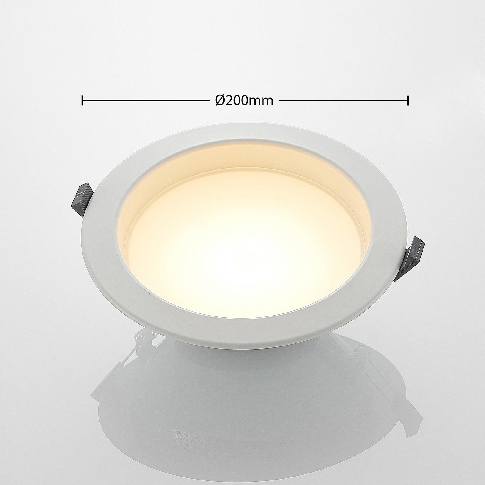 Piet LED podhledové svítidlo 17,5 W 3 barvy světla